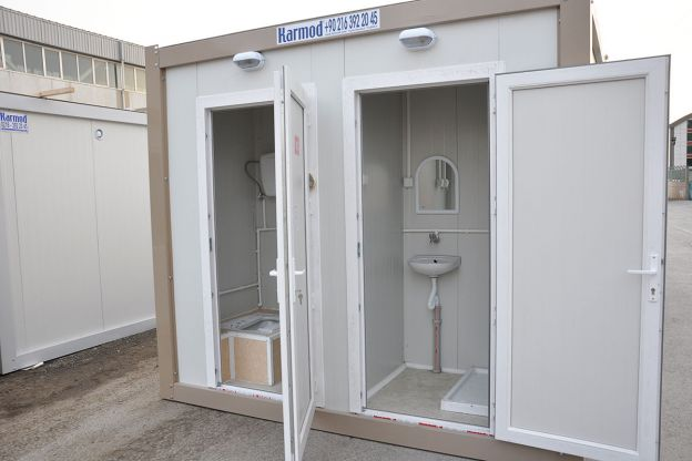 portable toilets  u0026 showers