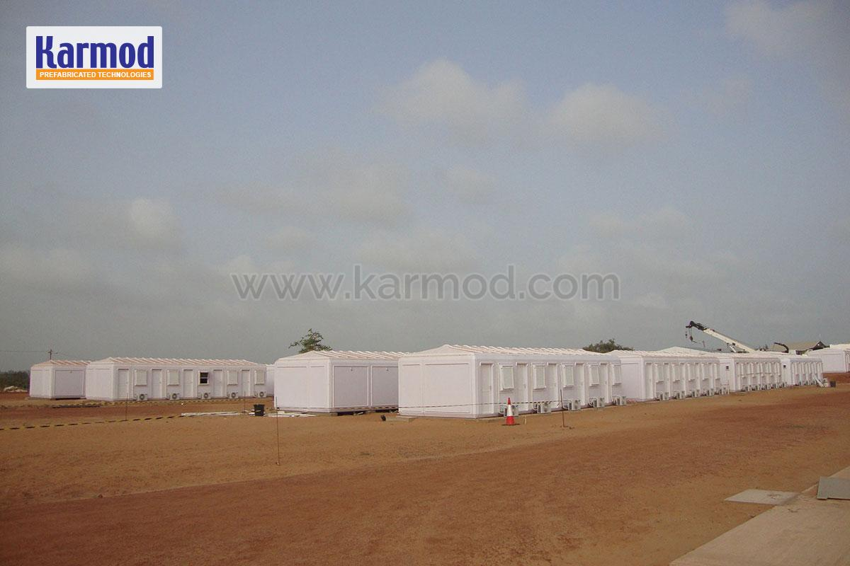 Assembly of administration building in Senegal is completed
