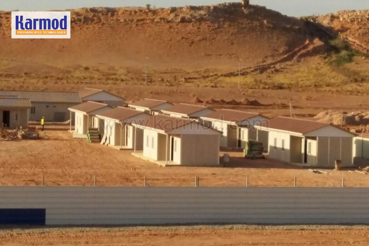 Algeria Prefabricated Houses Economic Social Housing
