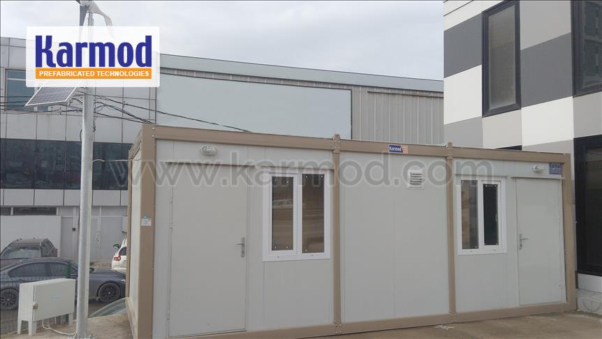 Energized Social Housing | Economic Houses Project | Green Container