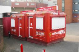"Karmod Cabins in ""Old Trafford"" and ""Camp Nou"""