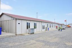 Worksite buildings of 3rd airport has completed by Karmod