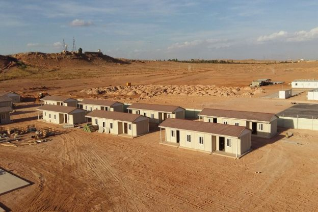 We have  completed 28 houses in 45 days in Algeria