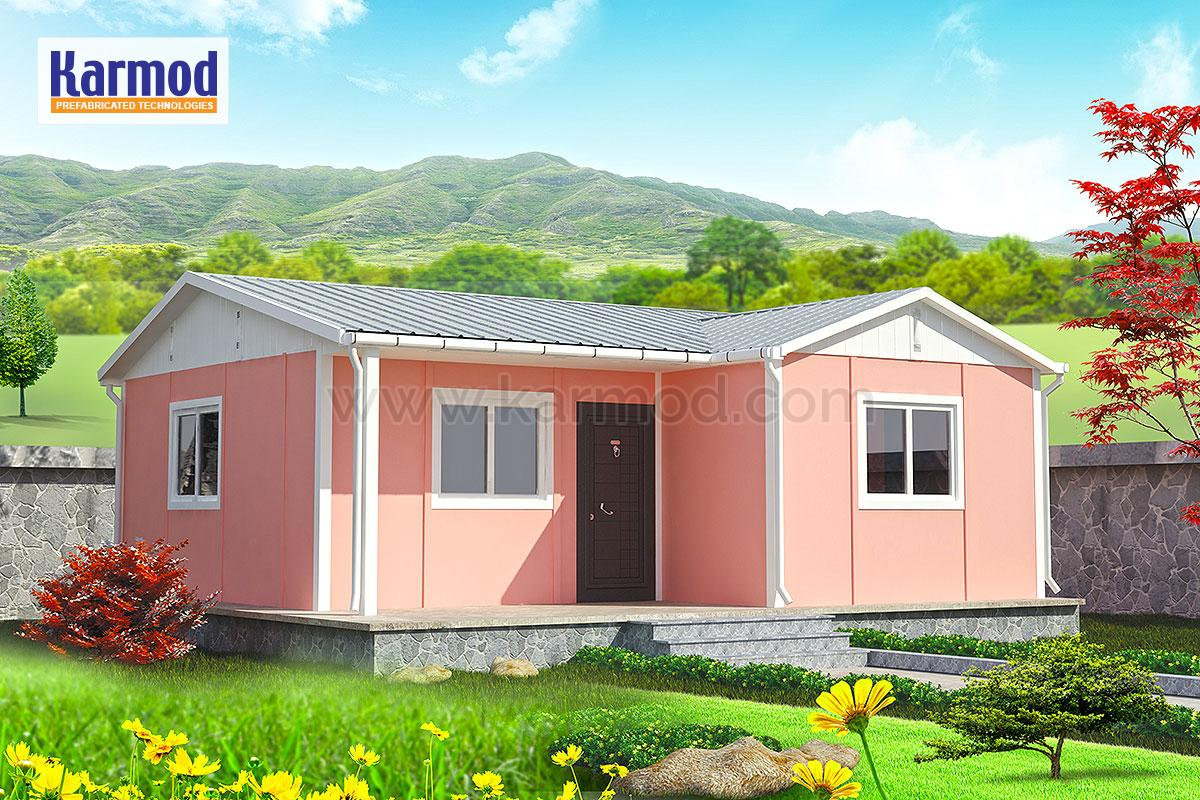 Affordable Prefab House Low Cost Cheap Prefabricated