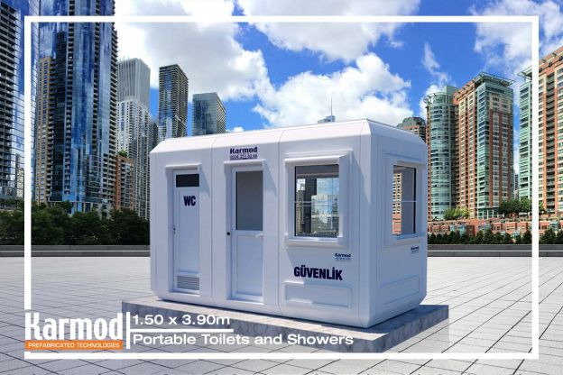 Portable Wc | Security Cabin | Kiosk | Shower Units