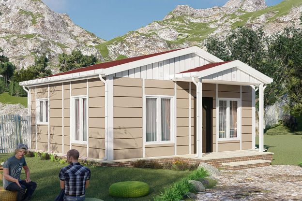 Karmod Nostalgia Model prefabricated house is very suitable for you!