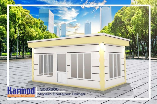 Modern Container Homes 300x600