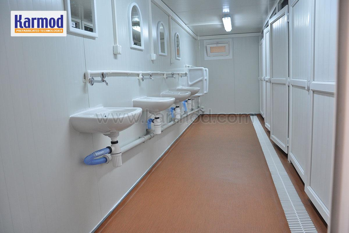Washrooms And Toilet And Shower Blocks For Containers