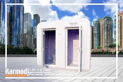 Portable Toilet and Shower | Bathroom Cabins