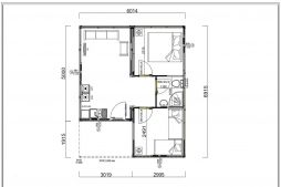 42 m2 Container Home