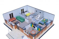 Ideal Ready-Made Home Model For Rural Areas