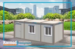 Flat pack container accommodation units | Karmod