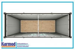 Low Cost Flat Pack Container House   Karmod