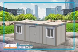 Flat pack containers site office | Karmod