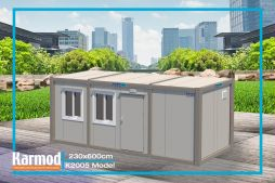 Flat Pack Container Uk l Portable modular buildings | Karmod
