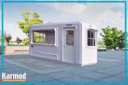 portable parking booths
