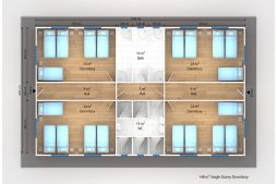 Prefabricated Modular Dormitories and Bunk houses