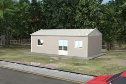 Prefabricated Refectory 53 m²   Mes Hall