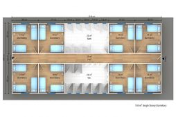Prefabricated Workers Accommodation Buildings