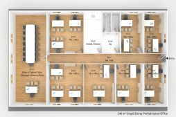 Relocatable Construction Office