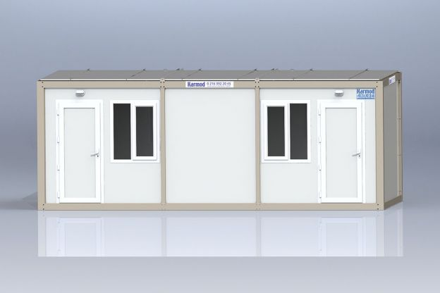 K 3007 Baucontainer - 3x7m
