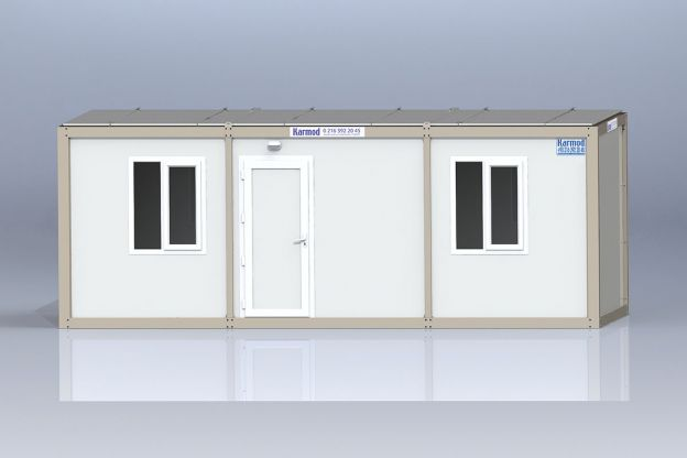 K 7002 Baucontainer - 3x7m