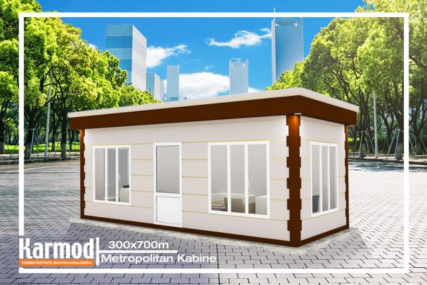 Luxus Wohncontainer 300 x 700