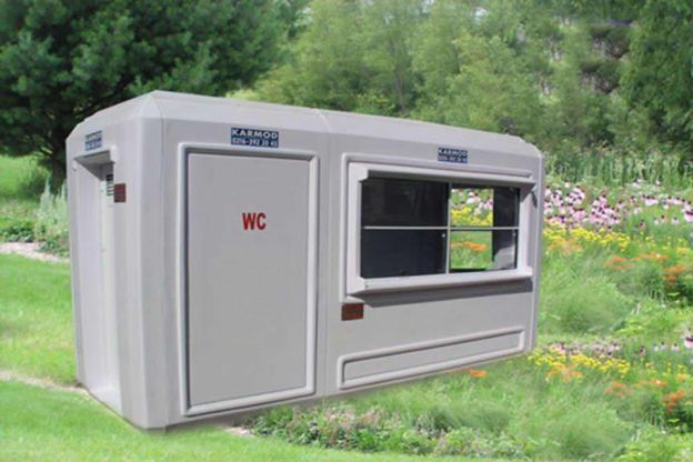 150 x 390 Wc - Security Cabin