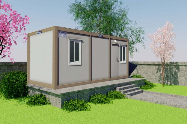 21 m2 Container Home