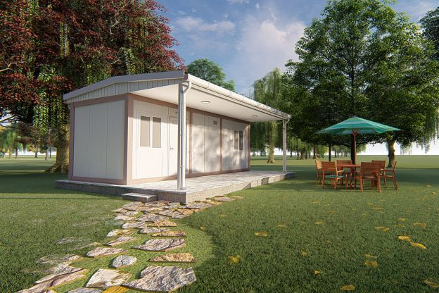 35 m2 Container Home