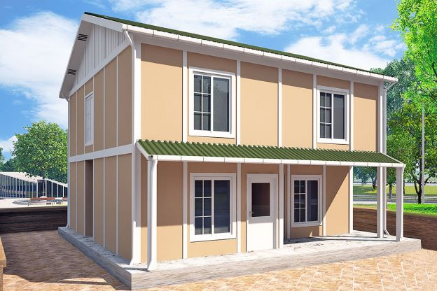 127 m2  Prefabricated House