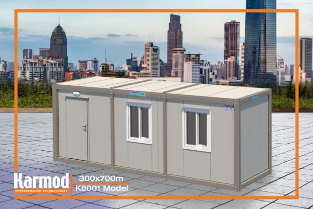 Portable Office Container K 8001