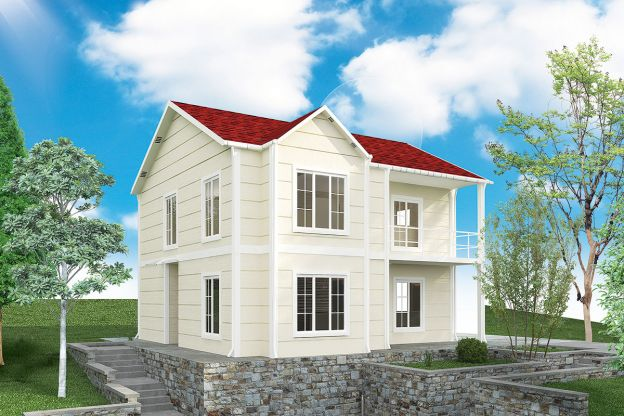 132 m2 Prefabricated House