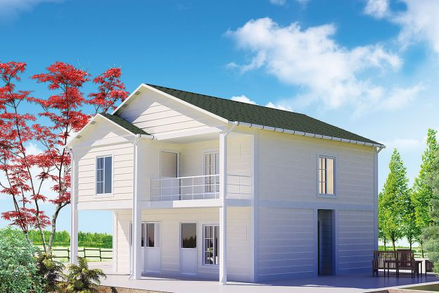 130 m2 Prefabricated House