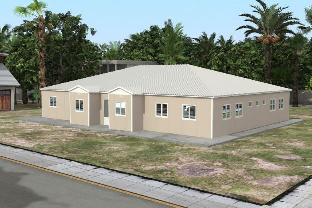 Prefabricated School 289 M²