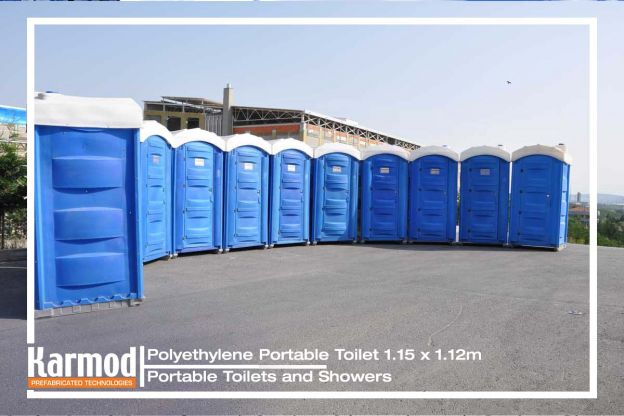 Polyethylene Portable Toilet
