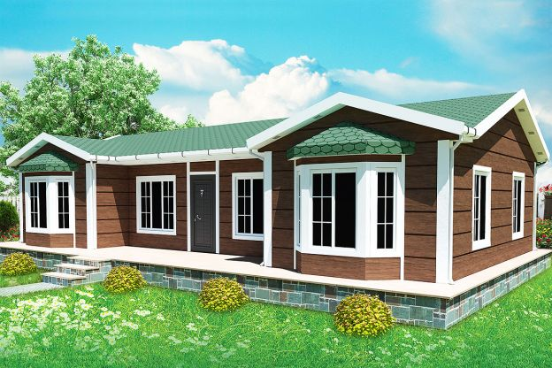 97 m2  Prefabricated House