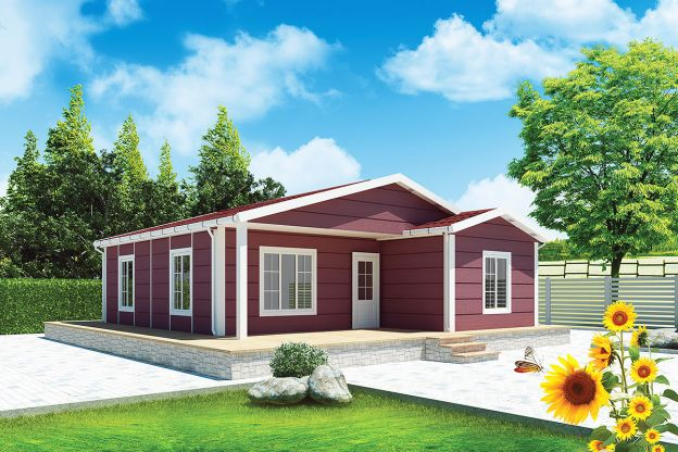 88 m2  Prefabricated House