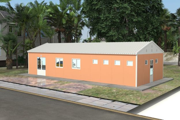 Prefabricated Cafeteria 98 m²