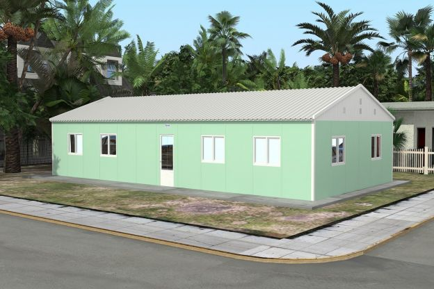 Prefabricated School 117 M²