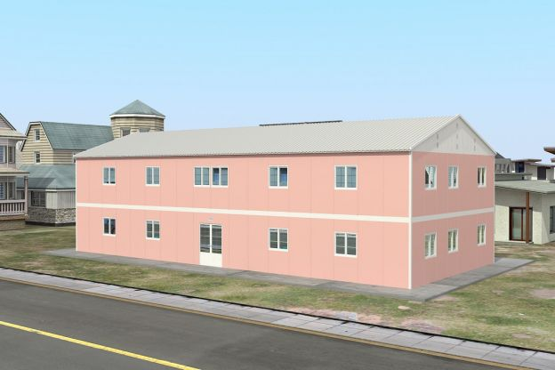 Prefabricated School 480 M²