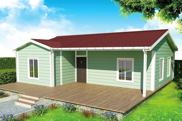 86 m2  Prefabricated House