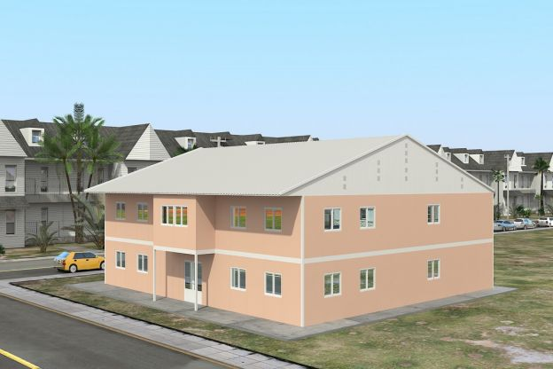 Prefabricated School 594 M²