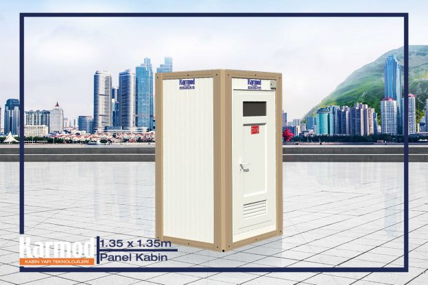 Panel Kabin Wc Duş 135 x 135