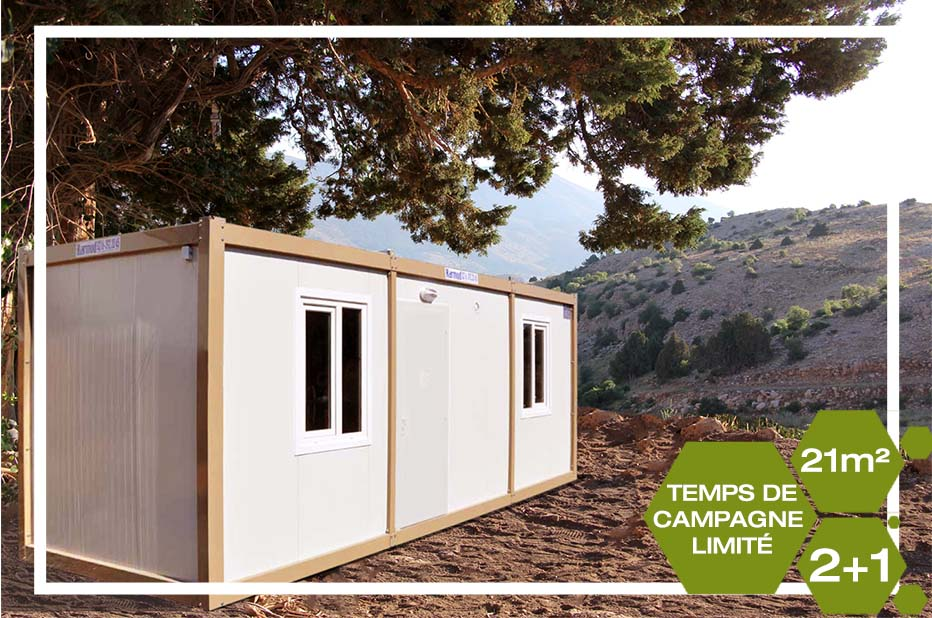 21m2  Container Homes