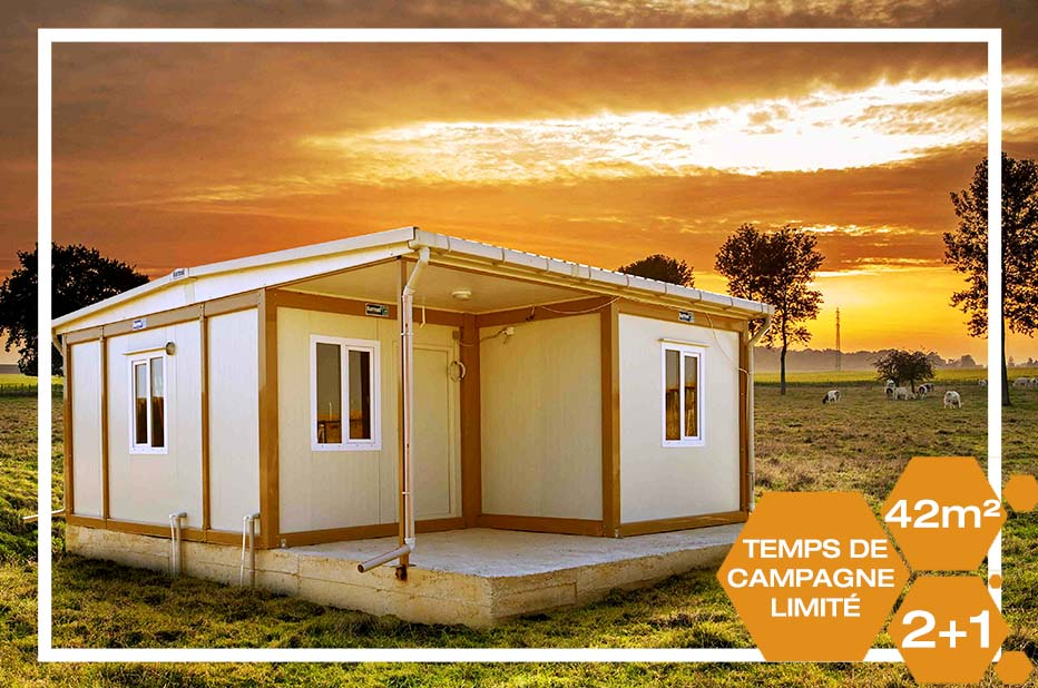 42m2 Container Homes