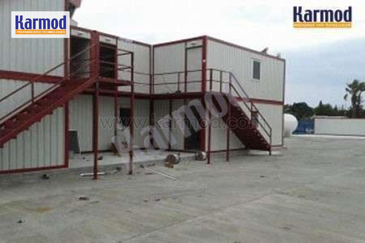 Ground Services Airport Prefab Office Project