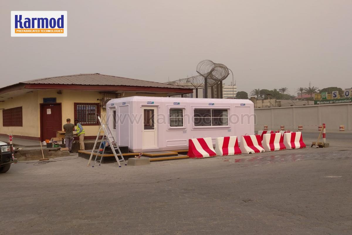 Cameroon Customs Offices, Security Cabins, Kiosks