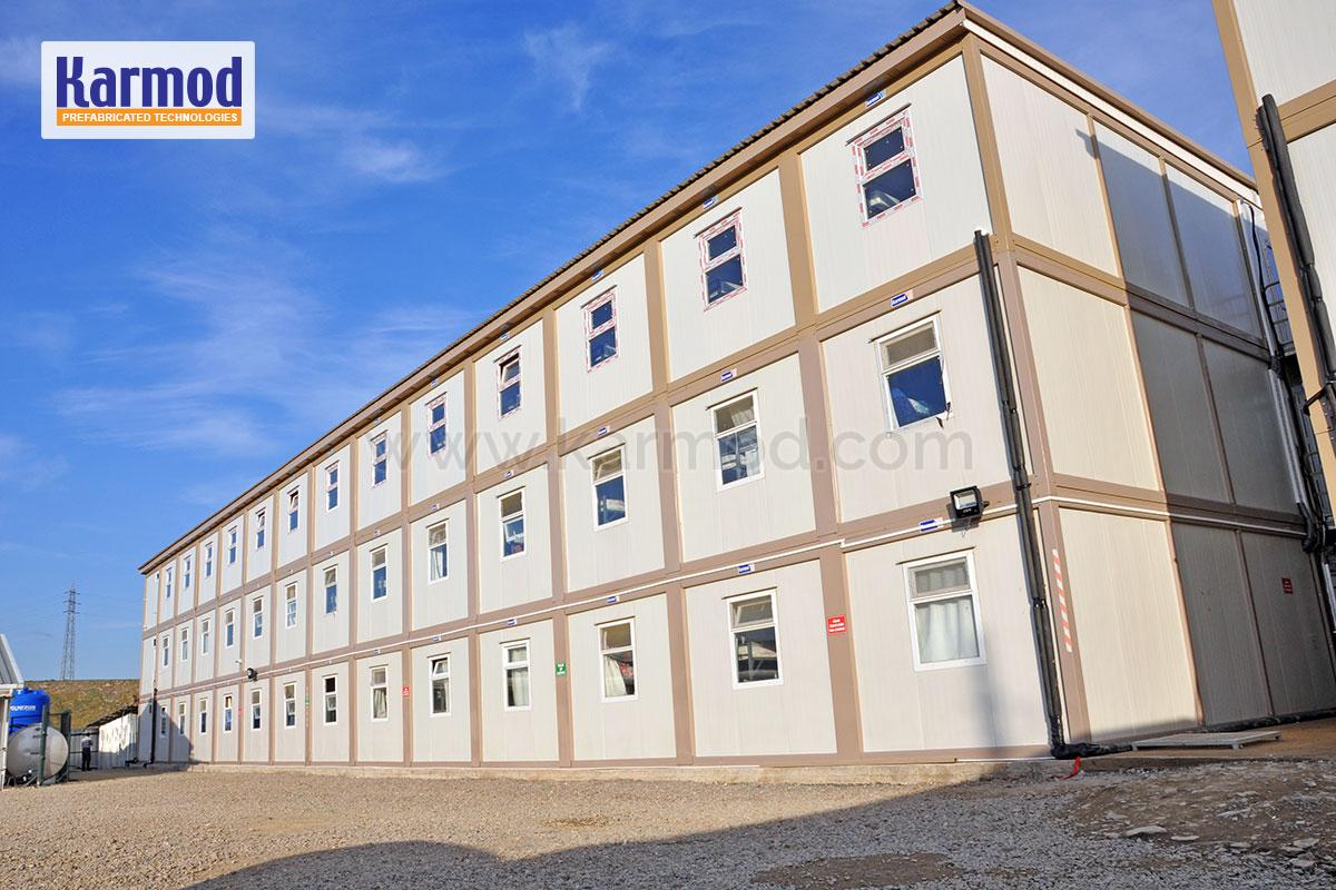 Construction Site Accommodation - Site Office Buildings Turkey