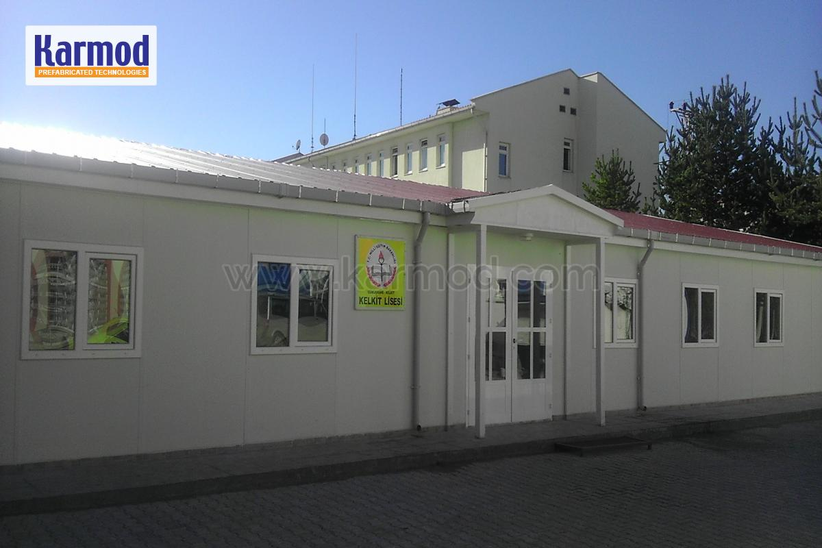 Additional Service Building for Two Schools in Turkey